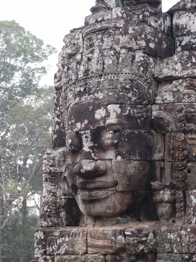 Serenity of the faces or Angkor Thom